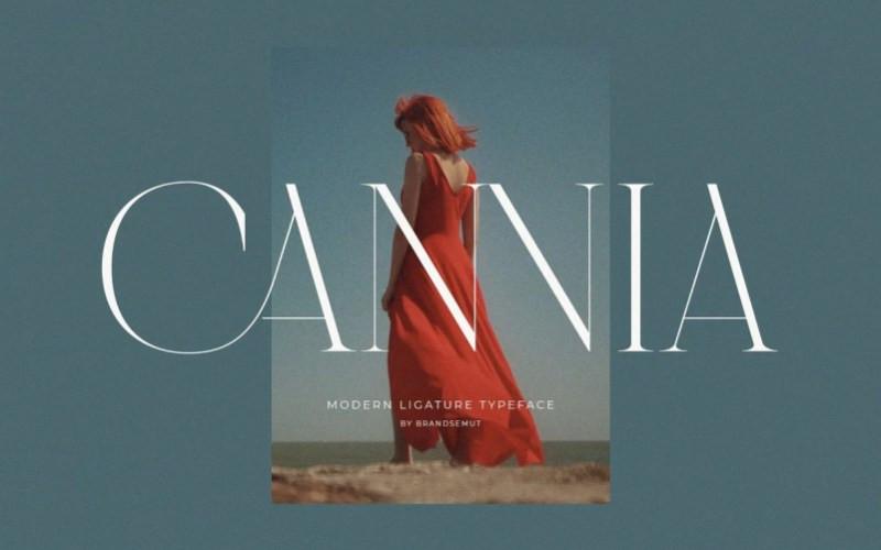 Cannia Serif Font