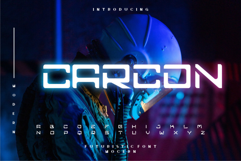 Carcon Display Font