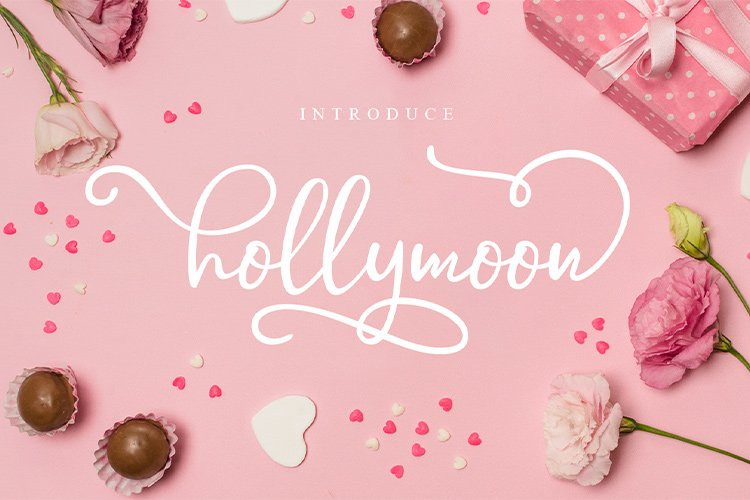 Hollymoon Script Font