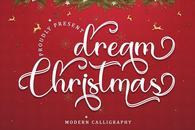 Dream Christmas Calligraphy Font