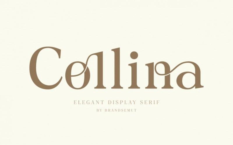Collina Serif Font