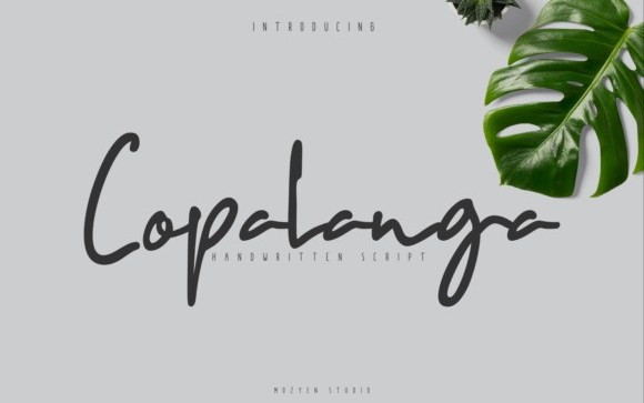 Copalanga Script Font