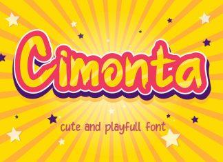 Cimonta Display Font
