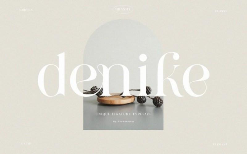Denike Serif Font