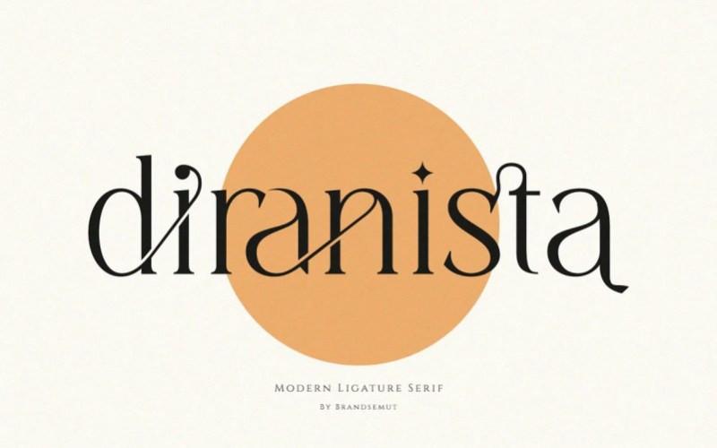 Diranista Serif Font
