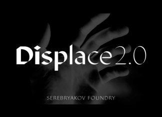 Displace 2.0 Sans Serif Font