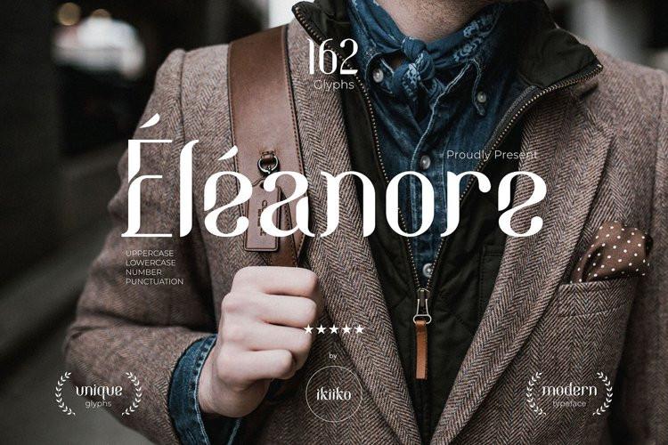Eleanore Display Font
