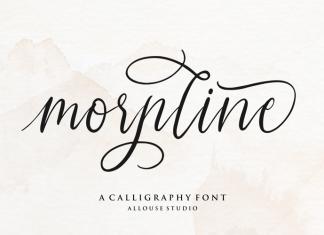 Morpline Script Font