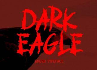 EAGLE DARK Brush Font