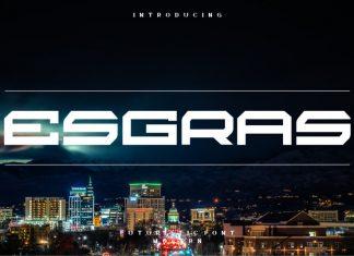 Esgras Display Font