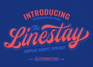 Linestay Script Font