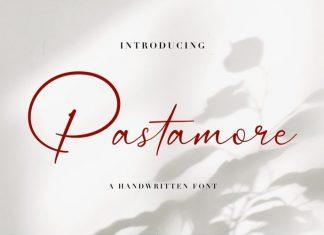 Pastamore Handwritten Font