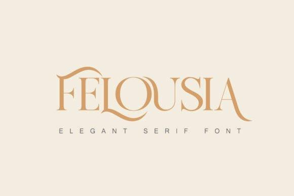 Felousia Serif Font