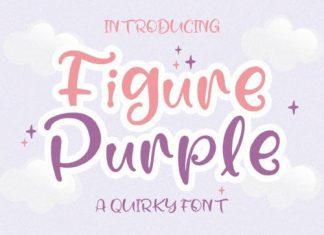 Figure Purple Script Font