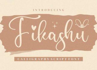 Fikashu Calligraphy Font