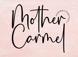 Mother Carmel Script Font