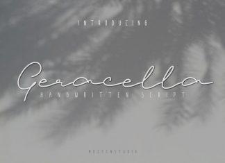 Geracella Handwritten Font