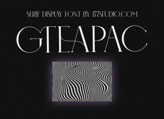 GTEAPAC Serif Font