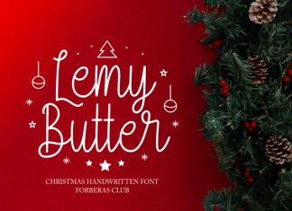 Lemy Butter Script Font