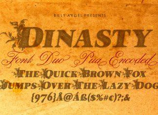 Dinasty Display Font