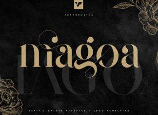 Magoa Serif Font