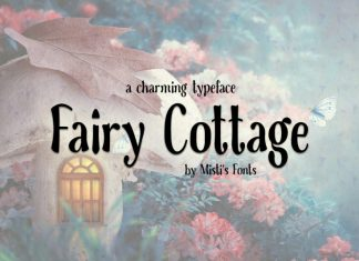 Fairy Cottage Display Font
