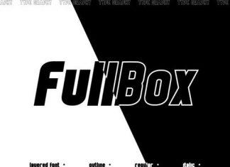 FullBox Display Font