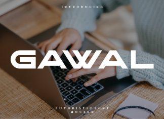 Gawal Display Font