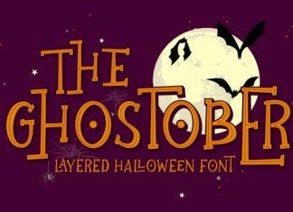 Ghostober Display Font