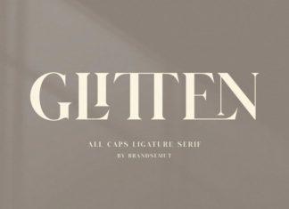 Glitten Serif Font