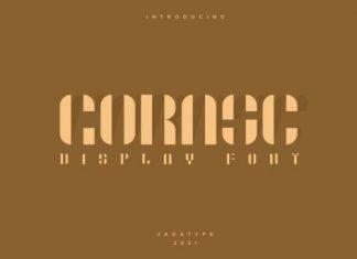Gorasc Display Font