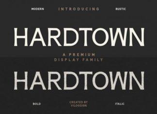 Hardtown Sans Serif Font