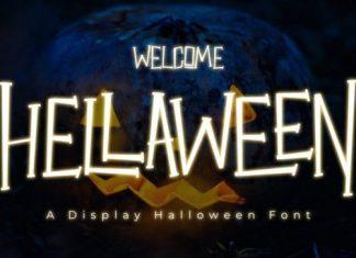 Hellaween Display Font