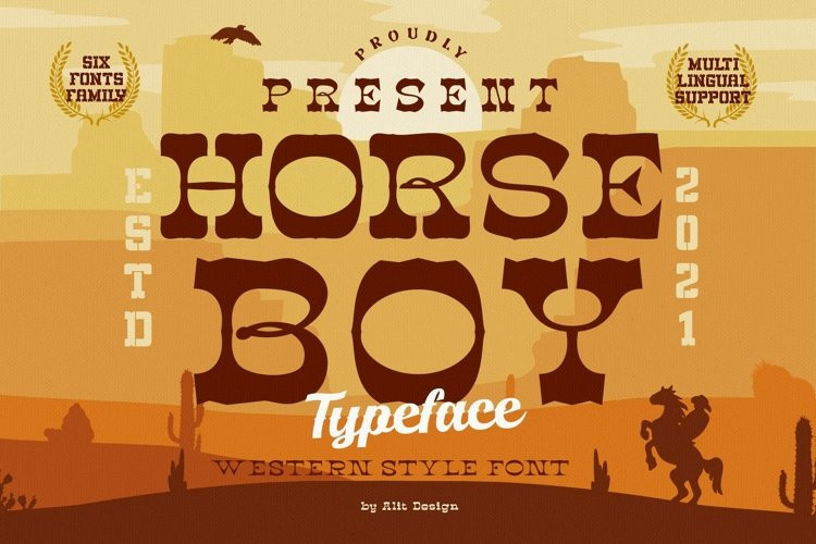 Horseboy Slab Serif Font