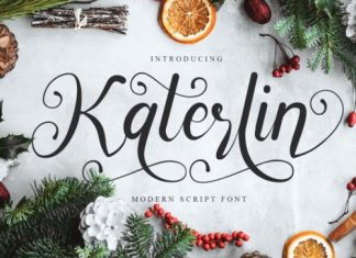 Katerlin Calligraphy Font