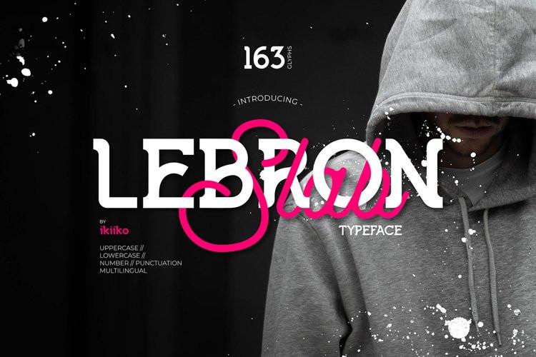 Lebron Slab Font