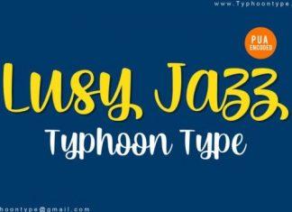 Lusy Jazz Script Font