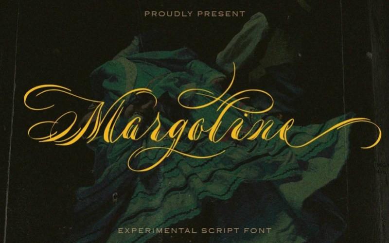 Margoline Calligraphy Font
