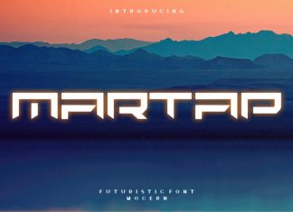 Martap Display Font