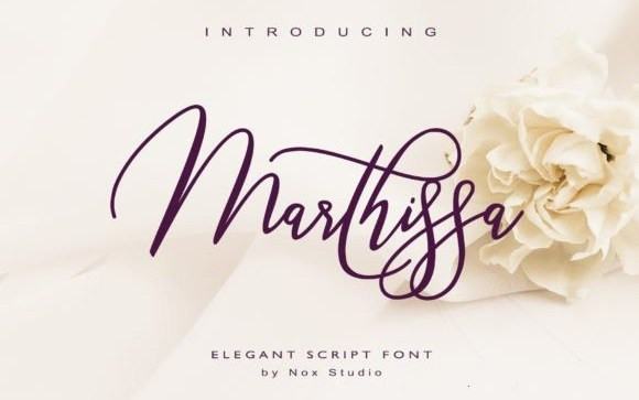 Marthissa Script Font