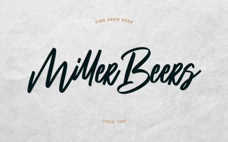 Millstream Script Font