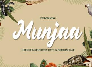 Munjaa Script Font