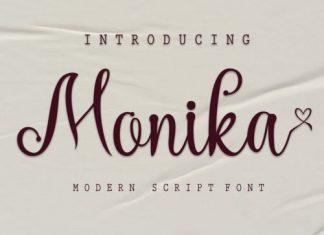 Monika Script Font