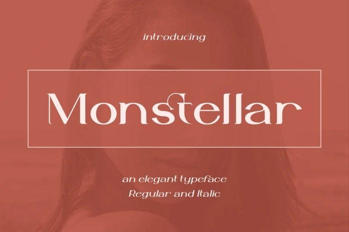 Monstellar Serif Font