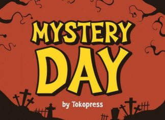 Mystery Day Display Font