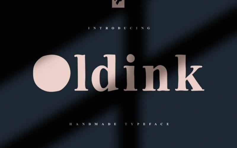 Oldink Serif Font