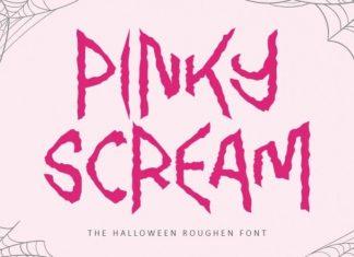Pinky Scream Display Font