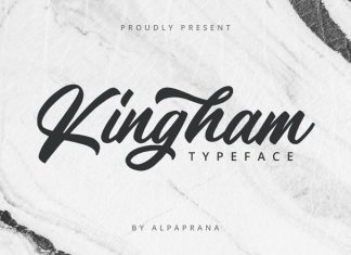 Kingham Script Font