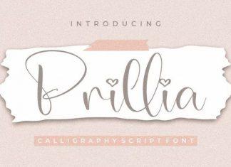 Prillia Script Font