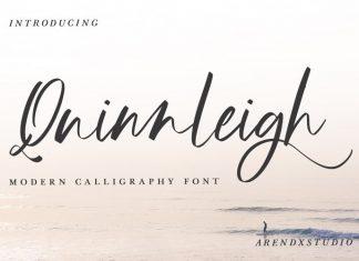 Quinnleigh Handwritten Font